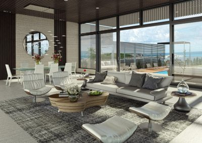 Luxury Holiday Apartment Living Design.