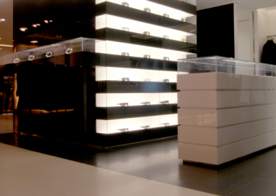 Bespoke Store Display Feature Resin Design.