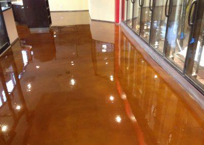 Marmalade Epoxy Flooring.