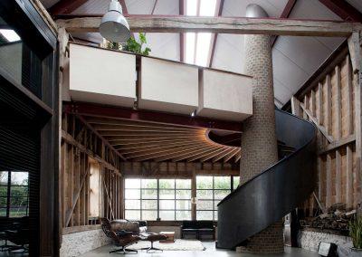 Master Barn Conversion Contemporary Design.