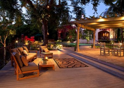 Outdoor Patio, Pergola, Decking & Lighting Project.
