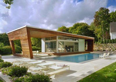 Passive House & Pool.