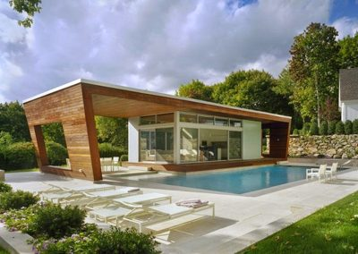 Passive Pool House Design.