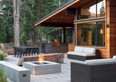 Patio in The Forest.