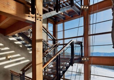 Reinforced Staircase Design In Steel & Timber.