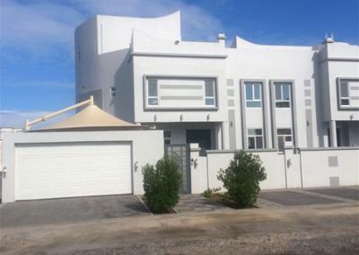 Retro Home Design In White.