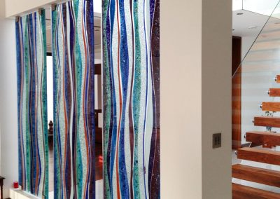 Glass Screen Wall Commission.