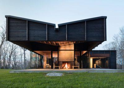Shou Sugi Ban Passive House Design.