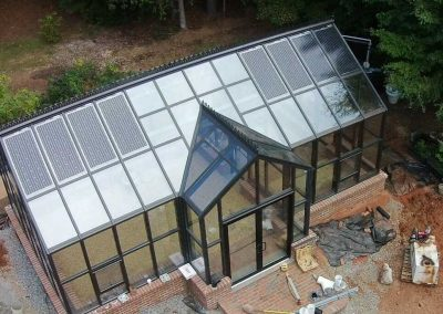 Solar Greenhouse Installation.