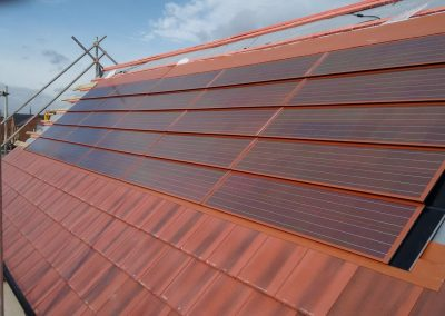 Solar PV Integration For Terracotta and Rosemary Tiles.