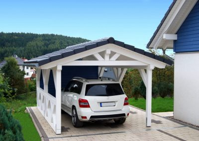 Solar Tile Car Port.