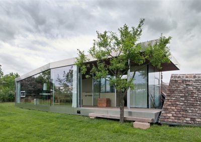 Steel Cladded Passive House