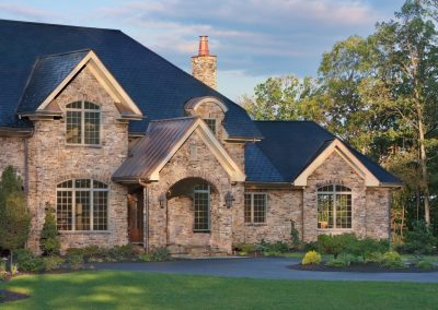 Stone Cladding Design For Homes.