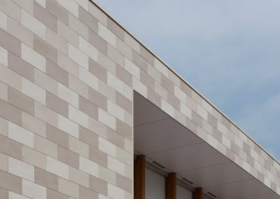 Terracotta Ceramic Cladding Design.