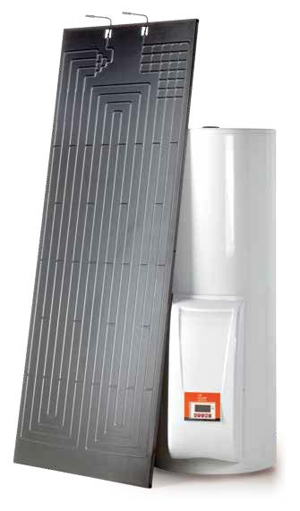Thermodynamic Heating Panel & Cylinder.