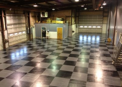 Workshop Industrial Interlocking Flooring.