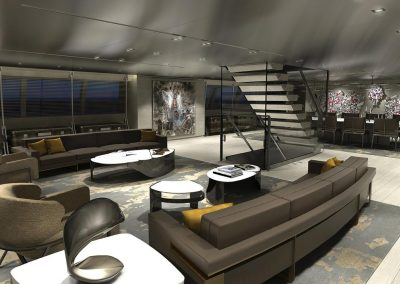 Salon Yacht Living.