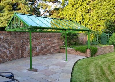 Garden Wall Canopy.