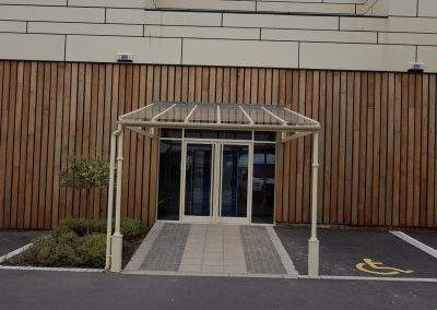 Commercial Entrance Canopy.