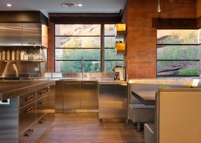 Bespoke Steel Kitchen & Dining Design.