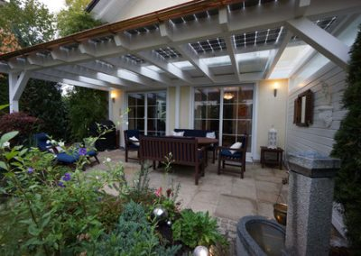 See Our Patio Canopies In The Canopy Sections Of The Building & Exterior & Solar Heating & Energy Menus Of This Website.