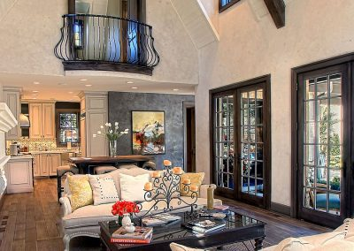 Indoor Juliet Balcony Design.