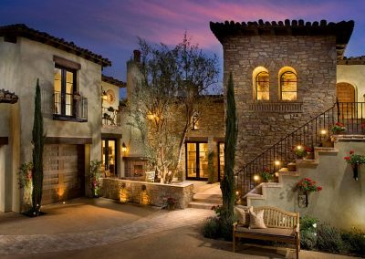 Mediterranean Juliet Balcony Design.