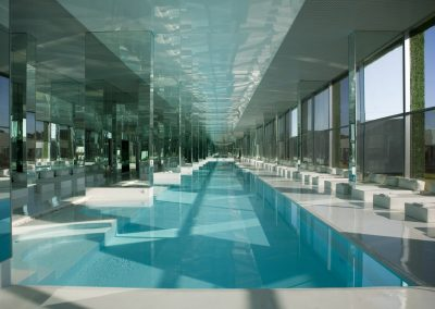 Pool & Glass Reflection Design.