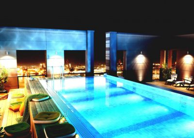 Roof Top Pool Design for Hotels.