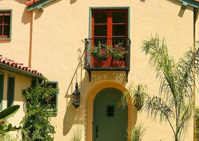 Spanish Home Juliet Balcony Design.
