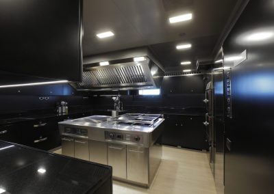 Sybaris Yacht Kitchen.