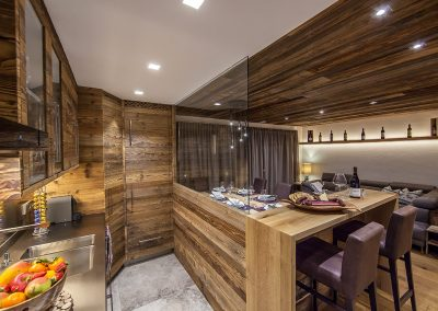 Timber Cabin Suite & Kitchen Design.