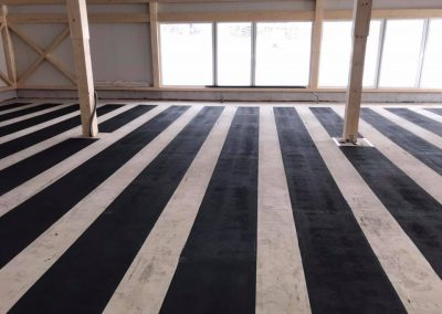 Commercial Space Heating Installation.