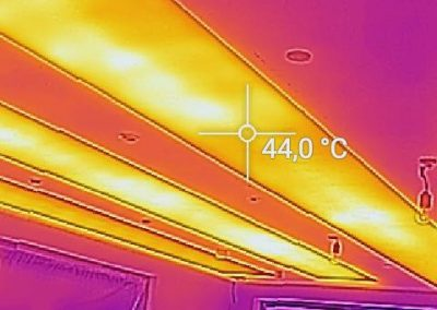 Ceiling Thermal Heat Test Proof.
