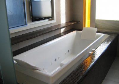Drop In Bath Tub & Designer Surround.