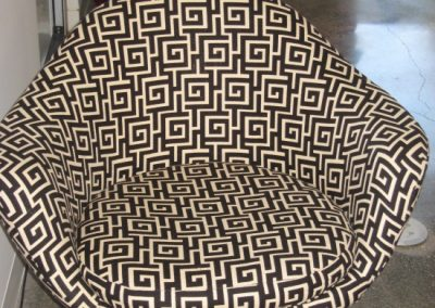 Fabric Finished Easy Chair.