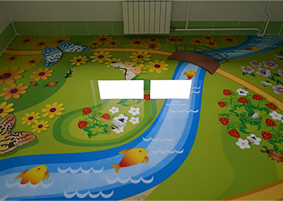 3d Resin Flooring Design For The Kids.