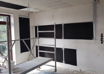 Installation Image With Double Heat Rows.