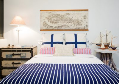 Nautical Bedroom Design.