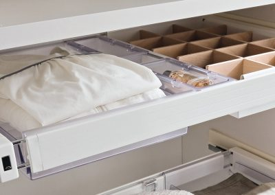 Pull Out Multi Storage Design.