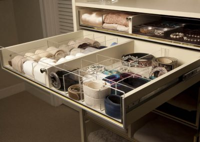 Multi Pull Out Ladies Storage.