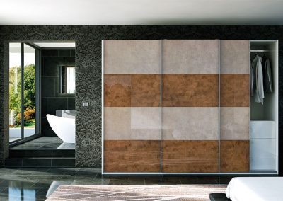 Gloss Stone & Light Bronze Slider Suite.