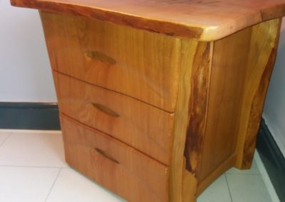 Commission 3 Drawer Elm Cabinet & Storage.