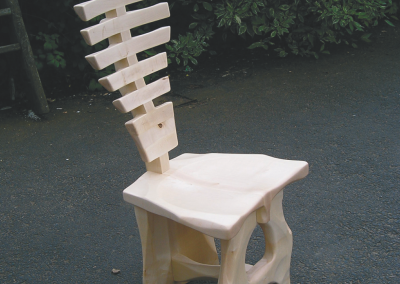 Back Bone Chair in Sycamore.