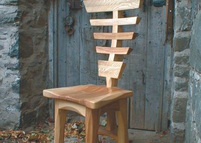 Bone chair in Ash.