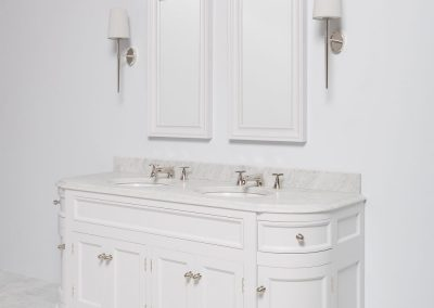 Credenza Vanity Suite In White.