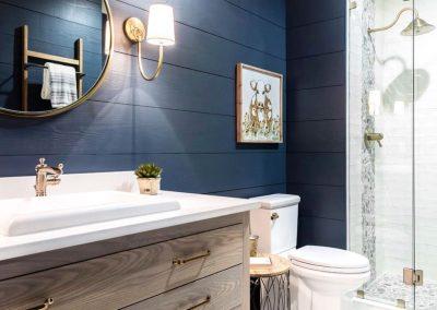 Nautical Blue Bathroom Theme.