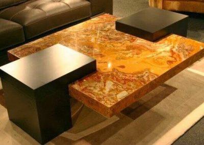 Onyx Coffee Table Design.