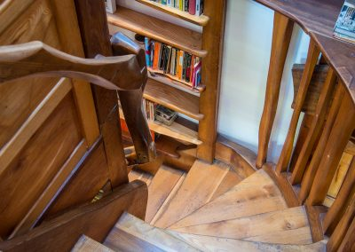 Timber Home Staircase.