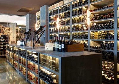 Wine Merchant Storage Design.